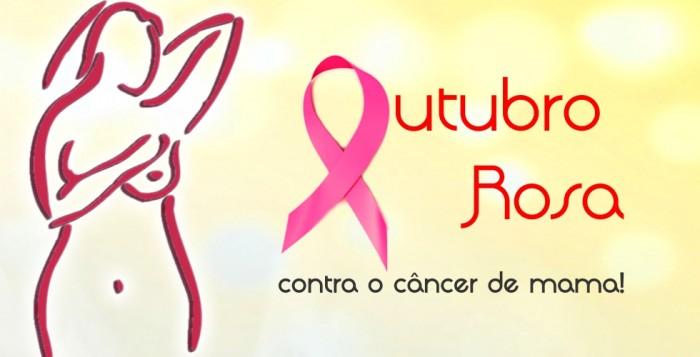 outubro rosa cancer de mama
