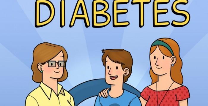 OCRC revista em quadrinhos diabetes