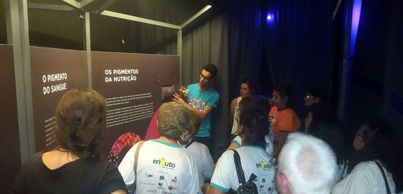 ocrc - museu exploratorio UNICAMP - cor da luz